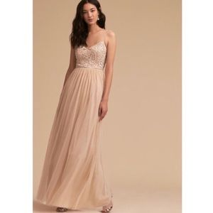 BHLDN Elowen Dress In Oyster